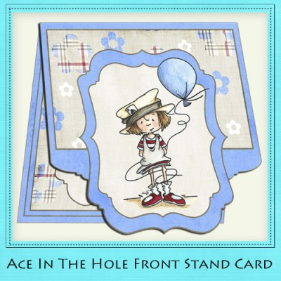 Ace In The Hole - Front Stand Card