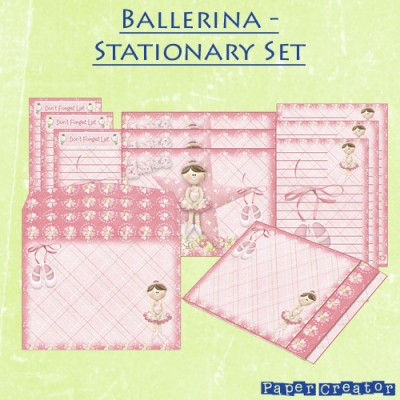 Ballerina - Stationary Set