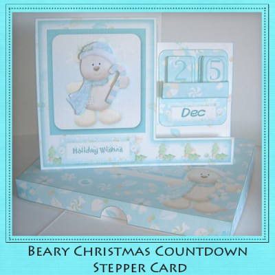 Beary Christmas - Countdown Stepper Card Kit