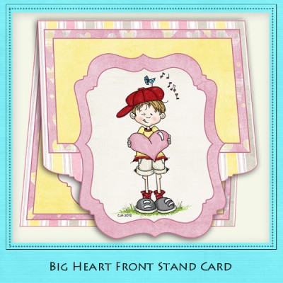 Big Heart - Front Stand Card