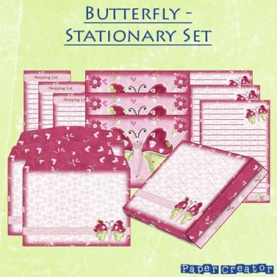 Butterfly - Stationary Set