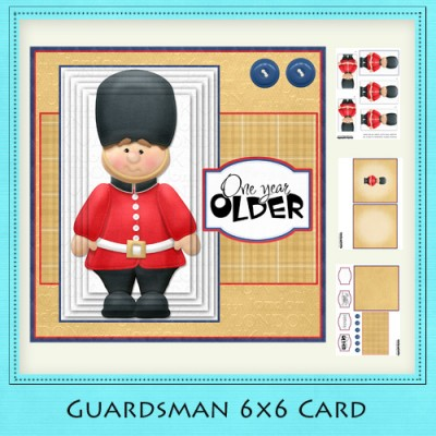 Guardsman - 6x6 Card Kit