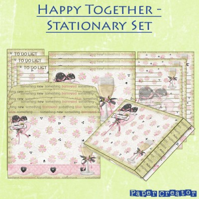 Happy Together - Stationary Set