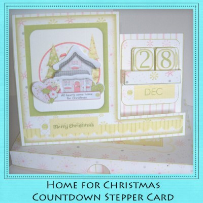 Home For Christmas - Countdown Stepper Card Kit