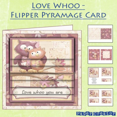 Love Whooo - Flipper Pyramage Card Kit