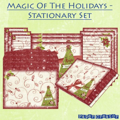 Magic Of The Holiday's - Stationary Set