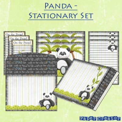Panda - Stationary Set