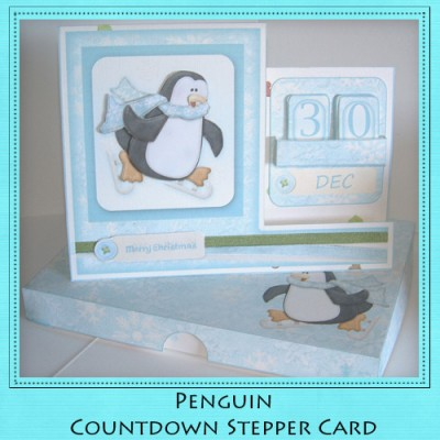 Penguin - Countdown Stepper Card Kit