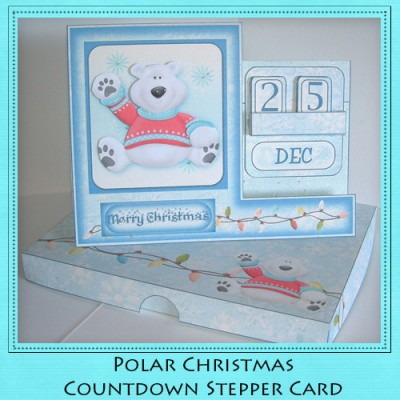 Polar Christmas - Countdown Stepper Card Kit