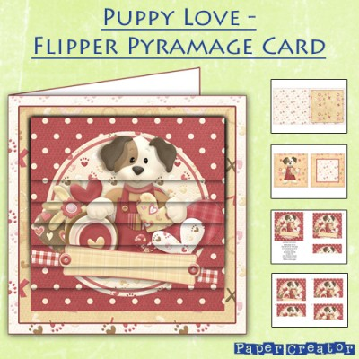 Puppy Love - Flipper Pyramage Card Kit