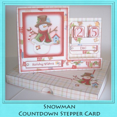 Snowman - Countdown Stepper Card Kit