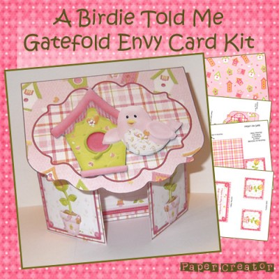 A Birdie Told Me - Gatefold Card Kit