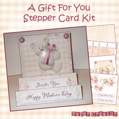 A Gift For You - Stepper Card Kit
