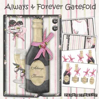 Always & Forever - Gatefold Card Kit