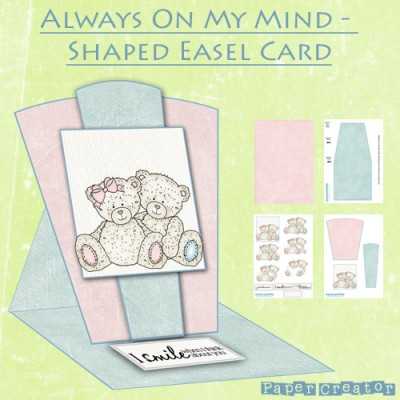 Always On My Mind - Shaped Easel Card Kit