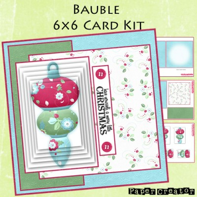 Bauble - 6x6 Card Kit