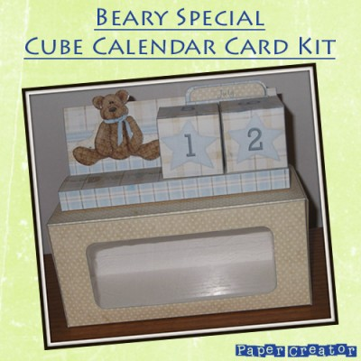 Beary Special - Cube Calender Kit