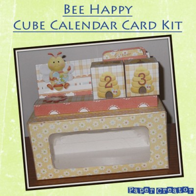 Bee Happy - Cube Calendar Kit