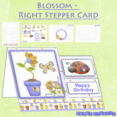 Bloom - Right Stepper Card Kit
