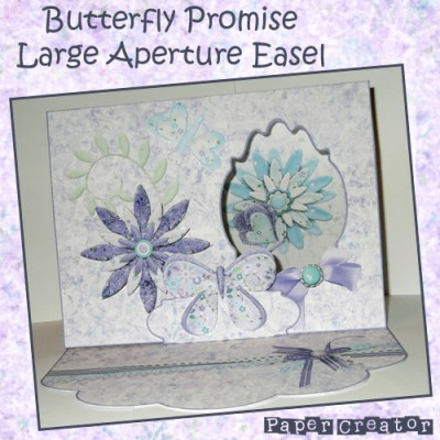 Butterfly Promise - Large Aperture Easel Card Kit