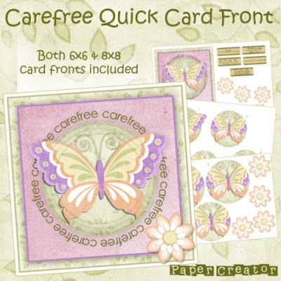 Carefree - Quick Card Front