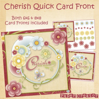 Cherish - Quick Card Front