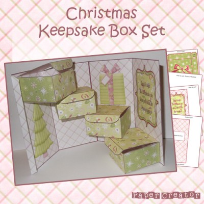 Christmas - Keepsake Box Set