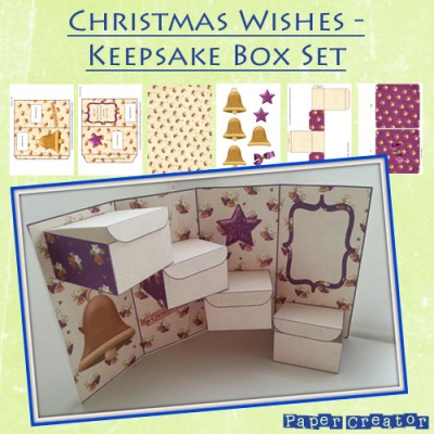 Christmas Wishes Keepsake Box Set