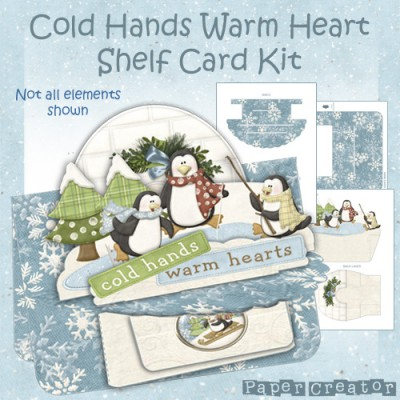 Cold Hands Warm Heart - Shelf Card Kit