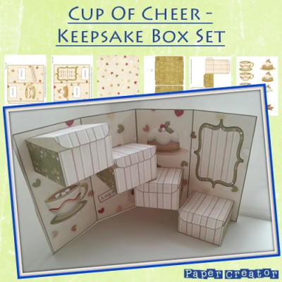 Cup Of Cheer Christmas Keepsake Box Set
