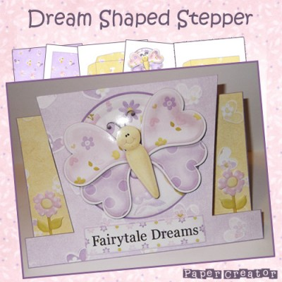 Dream - Shaped Stepper Card Kit
