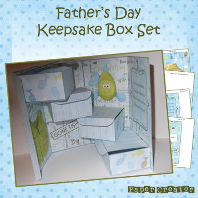 Father's Day - Keepsake Box Set