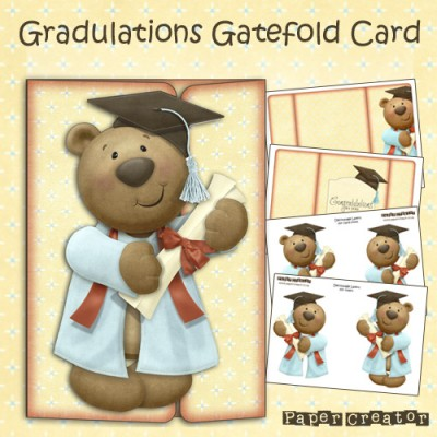Gradulations - Gatefold Card Kit
