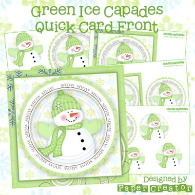 Green Ice Capades - Quick Card Front
