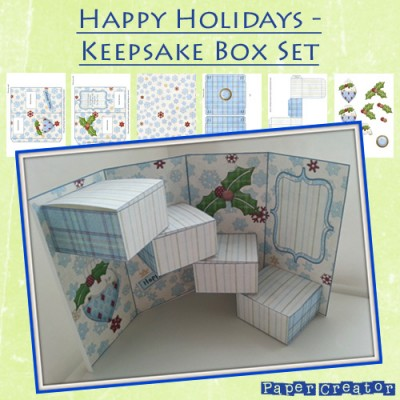 Happy Holidays Keepsake Box Set