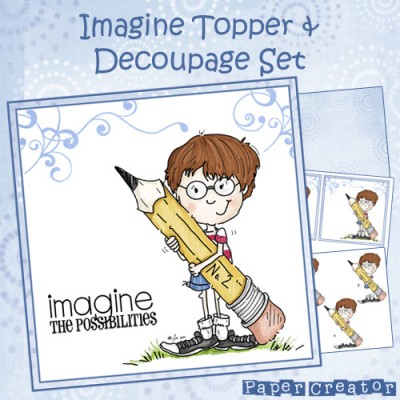 Imagine (Boy) - Topper & Decopuage