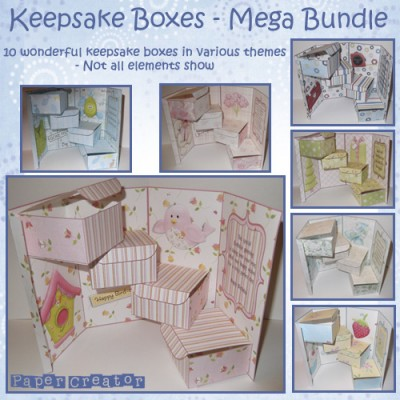 Mega Bundle - Keepsake Boxes