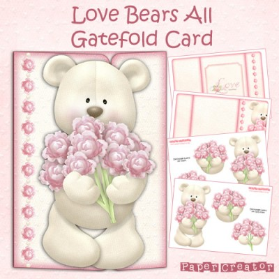 Love Bears All - Gatefold Card Kit