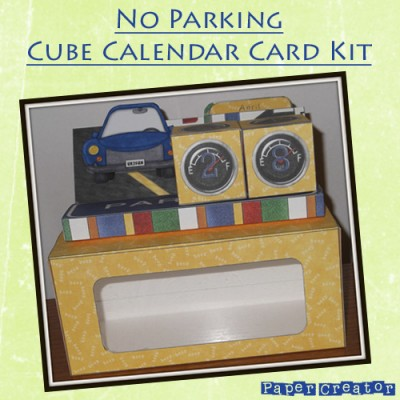 No Parking - Cube Calendar Kit