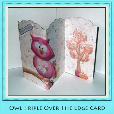 Owl - Triple Over The Edge Card