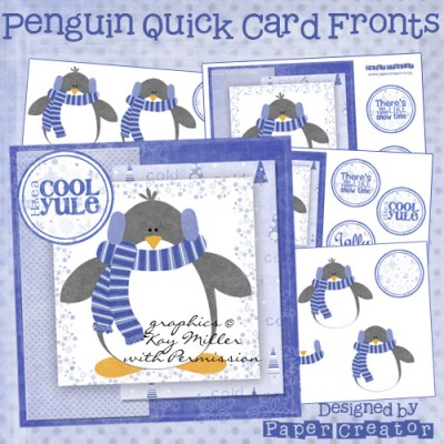 Penguin - Quick Card Front