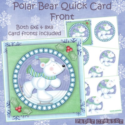 Polar Bear - Quick Card Front