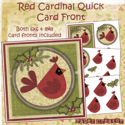 Red Cardinal - Quick Card Front