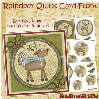 Reindeer - Quick Card Front