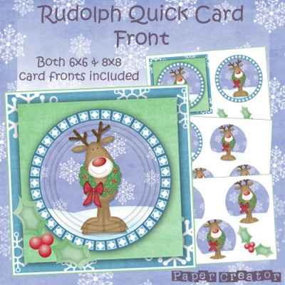 Rudolph - Quick Card Front