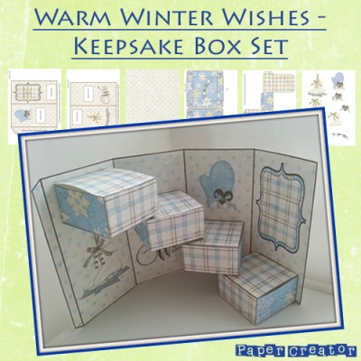 Warm Winter Wishes Keepsake Box Set