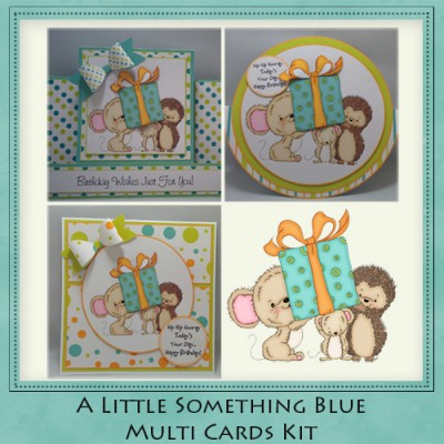 A Little Something Blue Multi Cards Kit