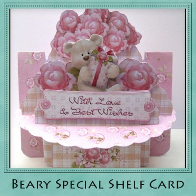 Beary Special Shelf Card Kit