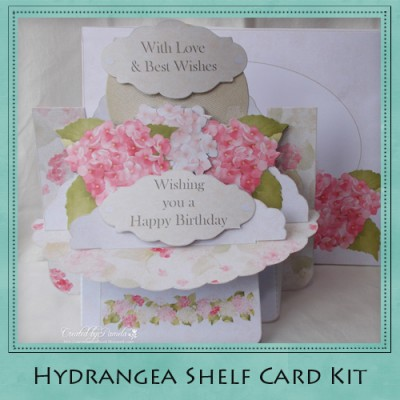 Hydrangea Shelf Card Kit