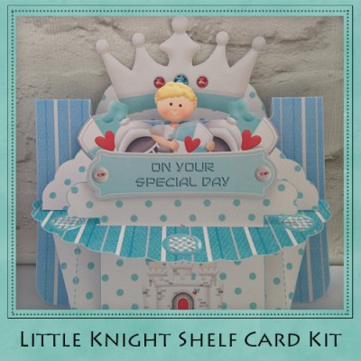 Little Knight Shelf Card Kit